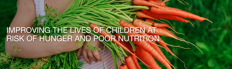 Child Nutrition and Hunger